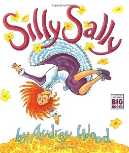Silly Sally Book Cover, by Audrey Wood